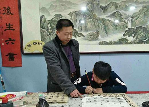 中国硬笔书法协会会员郑胜利